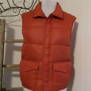 Goose down outdoors vest